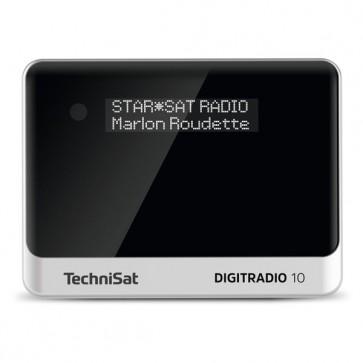 TECH-DIGITRADIO10-schwarz/silber