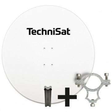 TECH-Satman850Plus-AZ/EL-Schelle-polarweiss